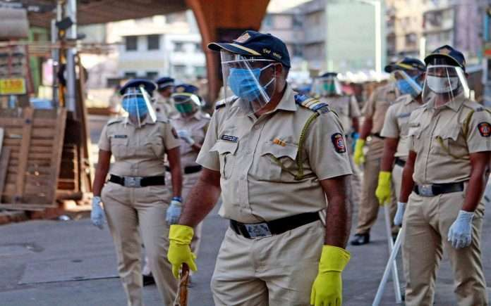 mumbai corona update the corona death toll in the mumbai police force to 105