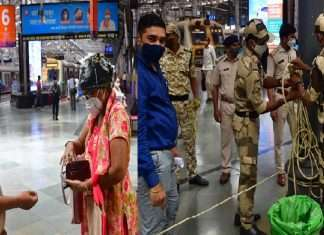 Photo: Railway administration prepares for implementation of lockdown