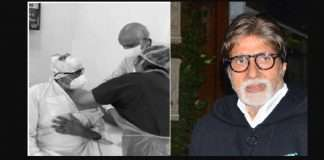amitabh bachchan receives first dose of covid 19 vaccine