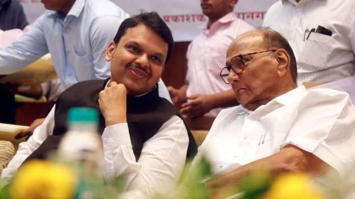 opposition leader devendra fadnavis will meet ncp president sharad pawar