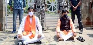 pravin darekar criticize shiv sena over palghar sadhu mob lynching