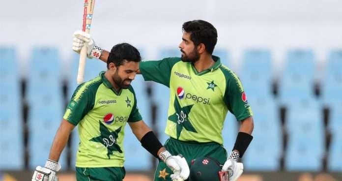 Mohammad Rizwan and Babar Azam