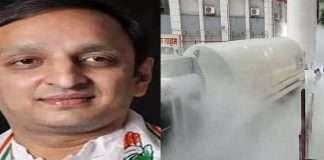 Nashik Oxygen Tank Gas leakage: 3 BJP MLAs from Nashik, Mayor abscond? bjp should accept responsibility sachin sawant demand