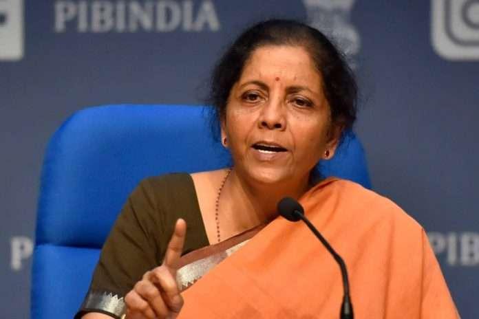 Union finance minister nirmala sitharaman slams congress