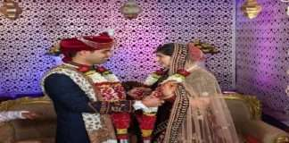martyr pilot abhinav chaudhary in mig 21 crash had got married after took only 1 rupees