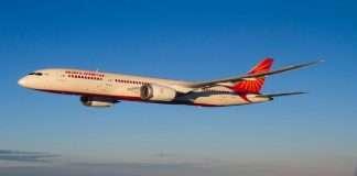 Air India plane found Bat, Newark plane had to land in 30 minutes