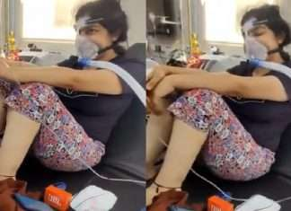 Love You Zindagi says the girl who fought with Corona died, video sharing doctor informed