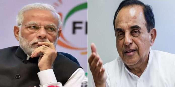 PM Narendra Modi should hand over the leadership of the battle of Corona to Nitin Gadkari says Subramanian Swamy