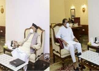 Praful patel, supriya sule meets maharashtra governor bhagat singh koshyari