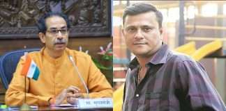 MNS leader Sandeep Deshpande and CM Uddhav Thackeray