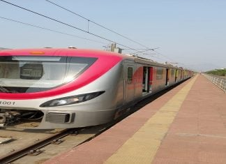 Metro test conducted by CIDCO successful