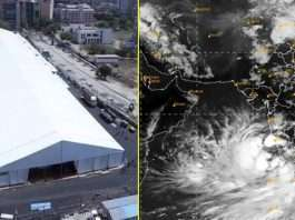Cyclone Tauktae covid patients form Dahisar, BKC, Mulund Jumbo Covid Center shifted to safe places