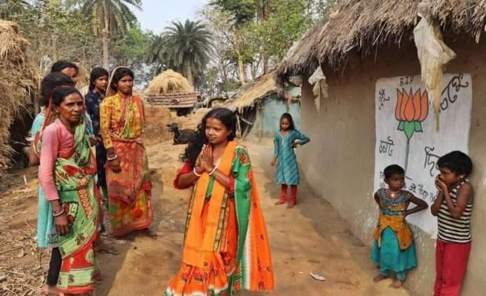 Bengal Assembly Election 2021: Owned hut, saving Rs 30,000, unmarried husband, still chandna bauri win against tmc candidate