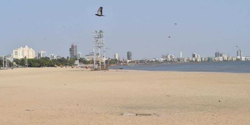 Mumbai lockdwon: When the running Mumbai stops, the whole city is deserted!