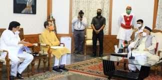 cm uddhav thackeray meets governor bhagat singh koshyari