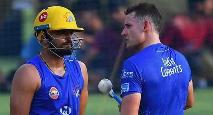 csk batting coach michael hussey tested positive for covid