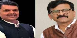 devendra fadnavis reaction on sanjay rauts to criticism on governor bhagat singh koshyari