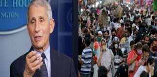 India's miscalculations about the Corona situation, said dr fauci, a US scientific adviser