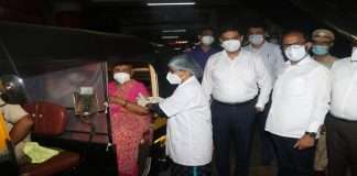 Drive-in vaccination started in Thane; Second dose for 100 senior citizens