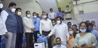 'Oxygen Bank' launched by eknath shinde