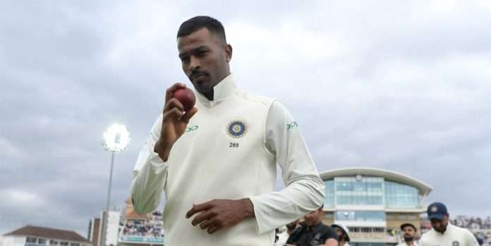hardik pandya dropped from test team