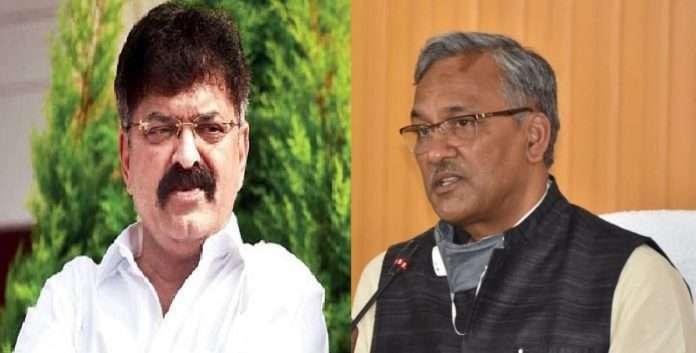 jitendra awhad BJP criticizes former cm trivendra singh rawat on controversial statement