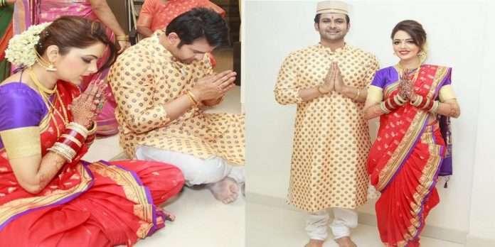 Sugandha Mishra's authentic Marathmola look, Sugandha Maharashtrian attire won the heart
