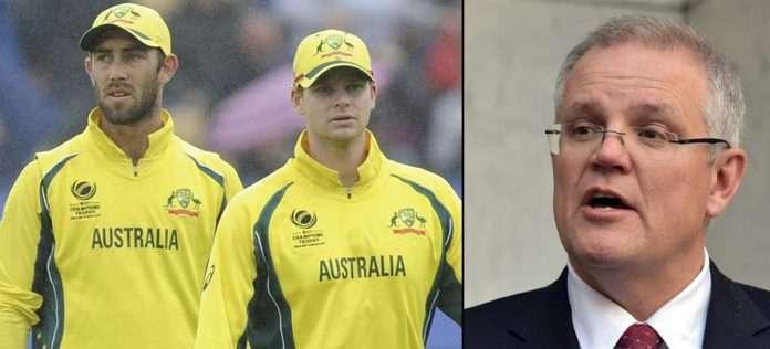 scott morrison says australian players should make their own arrangements