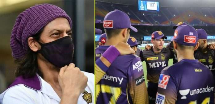 shahrukh khan encourages kkr players