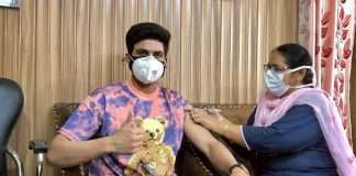 shubman gill gets vaccinated