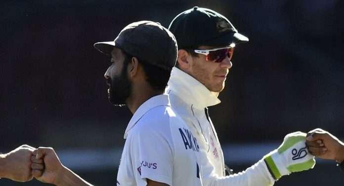 ajinkya rahane and australian test captain tim paine