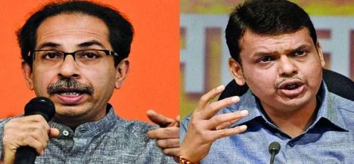 Shock to BJP! CM tied Shivbandhan on Varsha bungalow 10 corporators from Hinganghat in Shiv Sena