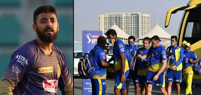 two kkr players and three csk members tested positive for covid-19