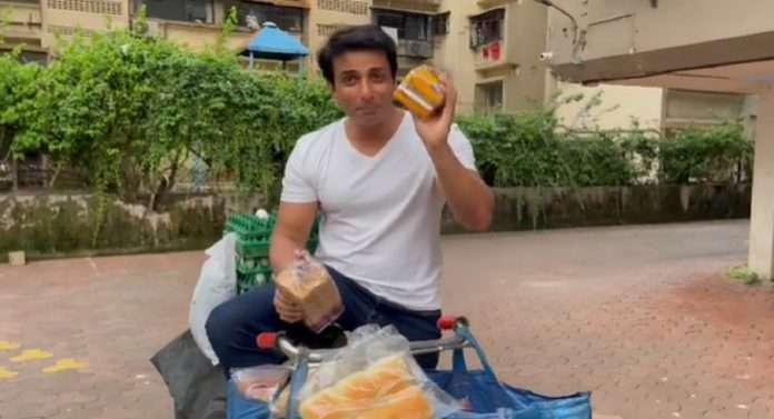 bollywood actor sonu sood opens his own supermarket