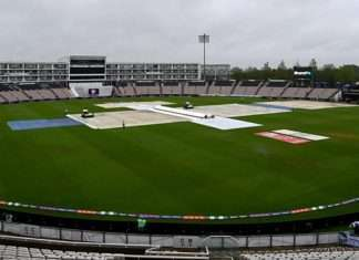 WTC Final rain delays start of the days play