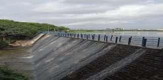 24 days before powai lake began overflow