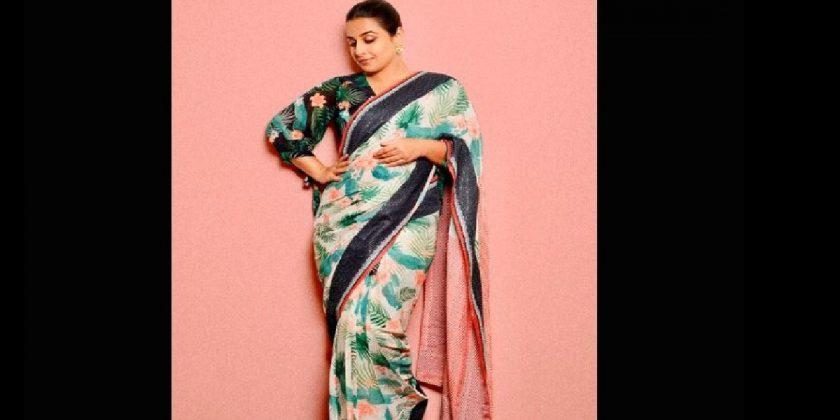 know how you can wear saree like bollywood sherni vidya balan
