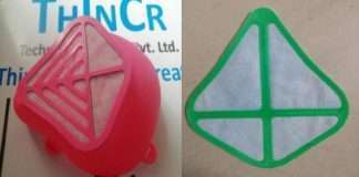 3D printed mask is more effective than N95 mask three-layer and cloth mask