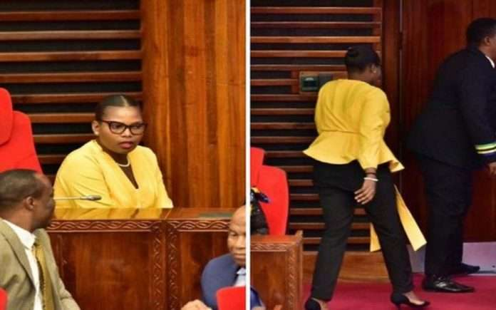 Tanzania's female MP asked to leave parliament for wearing 'tight' pants, sparks debate online