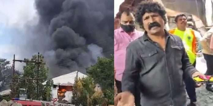 Angry reaction of actor Pravin Tarde after the Mulshi fire accident pune