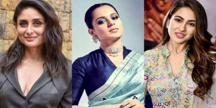 Bollywood actress kangana ranaut replace of Kareena kapoor khan for the role of Sita- The Incarnation
