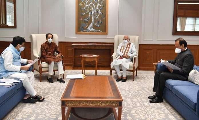 CM Uddhav Thackeray meets PM Narendra Modi