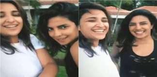 Funny reaction to bolltwood actress Priyanka chopra and Parineeti chopra's Rain Dance video