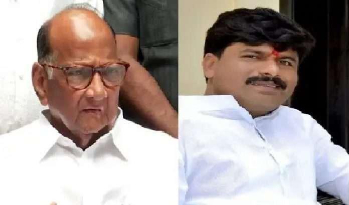 gopichand Padalkar targets Congress leaders and complaint to sonia gandhi