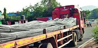 Illegal theft of iron rods in Igatpuri