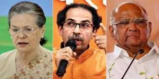 Sonia gandhi, Sharad Pawar and Uddhav Thackeray