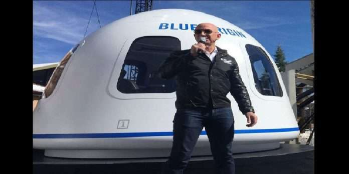 Amazon's billionaire ceo jeff bezos to fly to space with brother mark on a blue origin flight on july 20