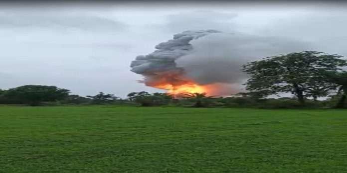 Big explosion in Palghar! 30 injured in firecracker factory fire