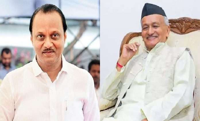 Ajit pawar request to PM Modi to give instruction to Governor regarding 12 MLAs nominated by Governor