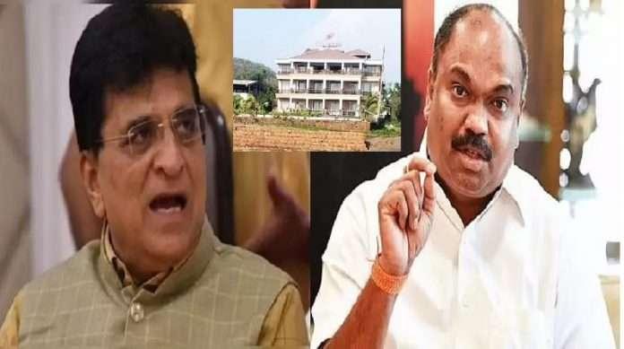 Kirit Somaiya claims Anil Parab's Sai Resort will be demolished in few days